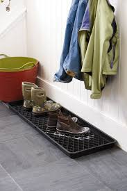 cool small boot tray mud room small home decoration ideas modern