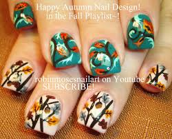 cute fall nail art by robin moses robin moses nail art videos