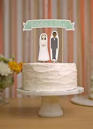 unique wedding cake topper 10 unique wedding cake toppers