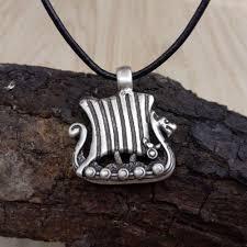 aliexpress com buy 12pcs viking dragon ship necklace mens norse