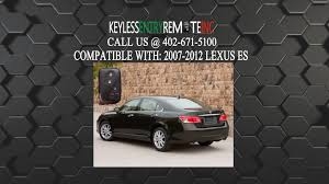 lexus ls 460 replacement key how to replace lexus es key fob battery 2007 2008 2009 2010 2011