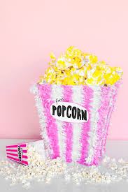 diy popcorn piñata studio diy