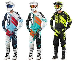 kids motocross gear combo answer motocross jersey pant and gloves sets