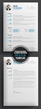 Professional Resume Cv Template Best 25 Professional Resume Template Ideas On