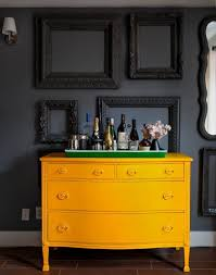 painted furniture expressive yellow painted furniture ideas