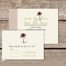 palm tree wedding invitations the palm tree wedding invitations iwi180 wedding