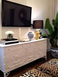 Bedroom Tv Dresser Luxe Report Bedrooms Leopard Ottomans Leopard Print Stools