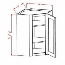 oak corner kitchen wall cabinet dcw2430 wall corner cabinets diagonal corner wall cabinet