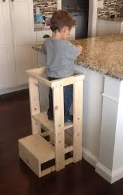 escabeau de cuisine enfant cuisine helper escabeau par teddygramstottowers sur etsy