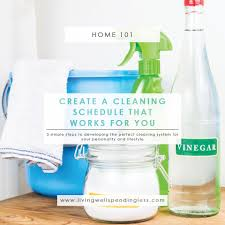 Cleaning For Lazy People How To Create A Cleaning Schedule That Works For You