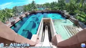 top 5 water slides in the world 2015 youtube