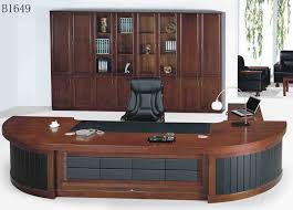 Office Desk With Cabinets Furniture The Application Of The Attractive Desk Furniture For