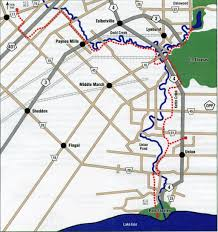 Trans Canada Highway Map by Trail Maps U2013 Elgin Hiking Trail Club