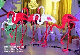 pool float figurines pink flamingo