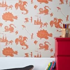 stone taupe dragon wallpaper for children ere be dragons
