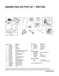 brute 020443 2700 psi pressure washer parts pertaining to briggs