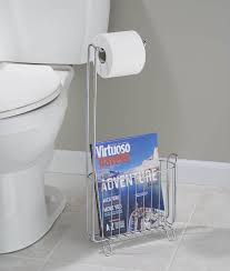 the easiest reach for a magazine when having to go to the bathroom