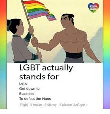 Lgbt Meme - lgbt unite lgbt actually stands for let s get down to business to