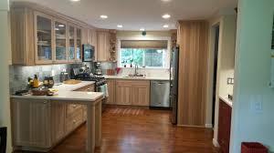 hickory grey stained kitchen cabinets kitchen bathroom cabinets gig harbor washington