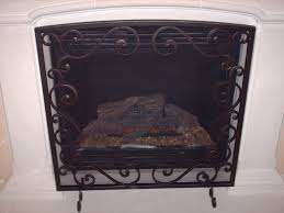 fireplace screens wrought iron u2014 jen u0026 joes design custom