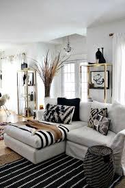 48 black and white living room ideas black white gold daydream