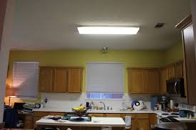 How To Install A Fluorescent Light Fixture Home Lighting Replace Fluorescent Light Fixture In Kitchen