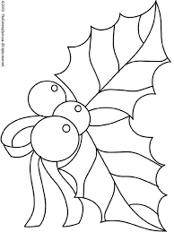 christmas coloring pages christmas holly 2 free printable