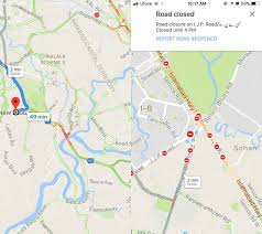 Google Maps Measure Distance How To View Blockades And Traffic Jams In Google Maps