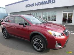 subaru crosstrek 2018 colors 2017 venetian red pearl subaru crosstrek 2 0i 116734657