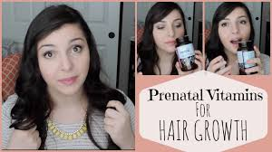 prenatal vitamins for hair growth beautymrs natural youtube