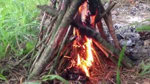 How To Make A Fire Pit In The Backyard by How To Start A Fire Without Matches Youtube