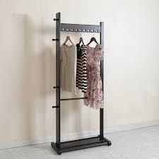 wardrobe racks interesting standing clothes rack store warehouse