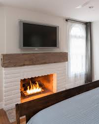 Distressed Wood Fireplace Surround 15 Gorgeous Painted Brick Fireplaces Hgtv U0027s Decorating U0026 Design