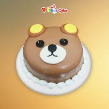 rilakkuma face cake ready stock kumpulan birthday wedding