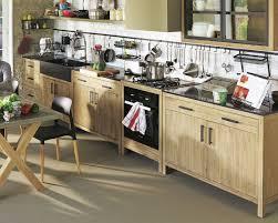 meuble de cuisine en bois massif meuble bas cuisine bois les meilleures ides de la