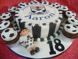 ayr united football club theme cake www cakesbylorna co uk