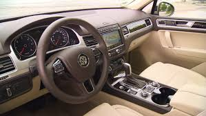 volkswagen touareg interior volkswagen touareg interior 2014 facelift youtube
