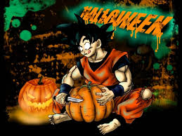 anime happy halloween dragon ball this is halloween youtube
