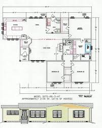 3 bedroom floor plan f 5072 hawks homes manufactured