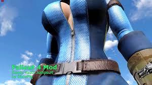 vault jumpsuit fallout4 mod showcase slooty vault jumpsuit