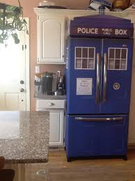 Dr Who Tardis Bookshelf This Is What I Want My Kitchen To Sort Of Look Like Tardis Fridge