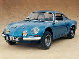 renault alpine a310 1962 alpine 110 milestones