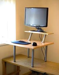 diy adjustable standing desk inspirational standing desk plans best home template diy standing