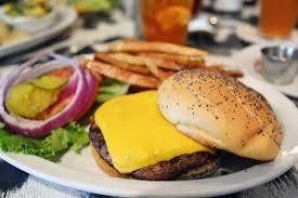 hill country burger delight at o u0027brien u0027s restaurant in bergheim