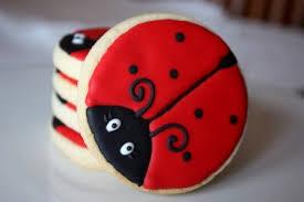 ladybug cookies one dozen ladybug cookie favors ladybug cookies bugs and ladybug