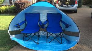 baseball tent chair pop up shade tent solution for park and outdoor