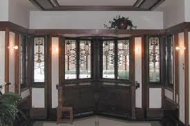 ways get the wright house plans decorative glass windows frederick robie house living room