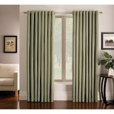 shop allen roth sullivan 84 in green polyester grommet light
