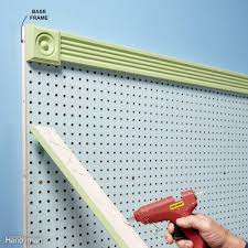 organize anything with pegboard 11 ideas and tips family handyman