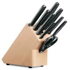 couteaux cuisine bloc de cuisine porte couteaux en bois victorinox achat vente